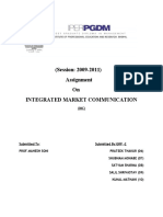 Integrated Market Communication