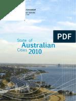 State of Australian Cities 2010