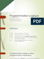 Chapitre1 Introduction a La Programmation Logique