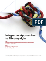 Integrative Approaches to Fibromyalgia Monograph