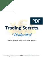 Trading Secrets Unleashed - ChartSecret.com