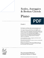 ABRSM Clas Piano Scales G4