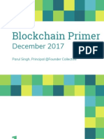 Blockchain Primer - Founder Collective - December 2017 - Parul Singh