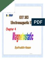 EET303-MAGNETOSTATICS 1213