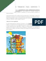 Aislamientos Térmicos Para Edificios y Viviendas