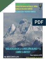 Deglaciacion en La Cordillera Peruana