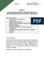 Libreto Feria Conadi-prodemu 2016
