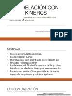 Modelación Con KINEROS