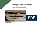 Corrosion en Estructuras de La Facultad de Ingenieria Civil