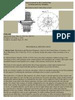 Tesla Gas Turbine Patent