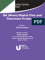BATV Dissertation 16-17 v2