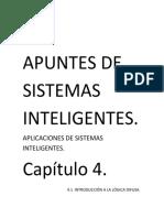 Apuntes de Sistemas Inteligentes Capitulo 4