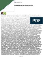Enteoadicción o Triptaminomanía, Por Jonathan Ott