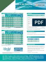Tabela de preco Medial - Divicom