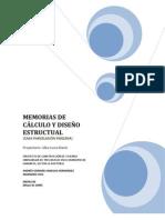 Memorias de Calculo Estructural_Fidelena