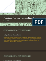 Costos de Un Consultorio
