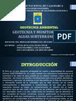 Geotecnia y Monitoreo de Aguas Subterráneas