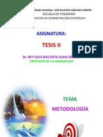 Metodología de La Tesis - Mae 2017