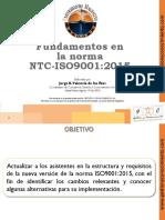 Capacitación Fundamentos en La Norma ISO9001 2015