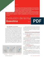 evolucion de la inyeccion a gasolina