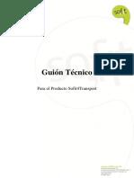 Guion Tecnico Sofit 4transport