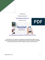 quizlet a white paper