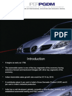 Auto Mobile Industry Presentation