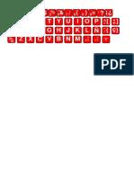 teclado 01 Alfanumerico