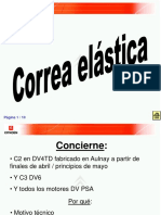 Correa Elastica DV4