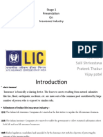 LIFE INSURANCE CORPORATION OF INDIA (Insurance Industry)