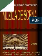 Forme Şi Genuri Muzicale Dramatice