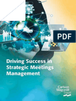 Driving Success in Strategic Meetings Management