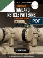 Handbook of Standard Reticle Patterns Ver.10