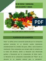 Flavor en Frutas y Hortalizas
