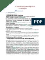 Conceptos Básicos de La Metodología de La Investigación