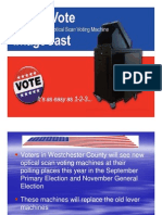 Bd of Elections ImageCast Instructions