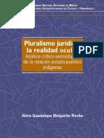 PLURALISMO JURÍDICO- LA REALIDAD OCULTA