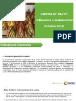 Cadena Del Cacao Cifras Sectoriales