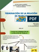 Conclusion de Contrato Laboal