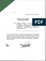 circular resoluciones admnistrativas