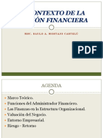 El Contexto de la Gestion Financiera