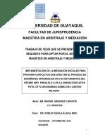 tesis mediacion educativa