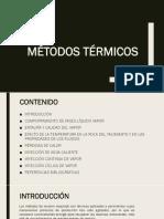 Inyeccion de Vapor (Metodos Termicos)