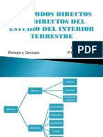 Metodos Directos e Indirectos Del Estudio Del Interior Terrestre
