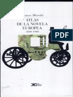 Atlas de la novela europea Moretti