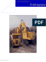 Course Komatsu Pc4000 Hydraulic Mining Shovel Application Front Shovel Backhoe Attachment