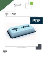 EVS AvidTM Integration 3.00 ENG 090603 Web