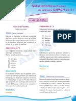 Razonamiento Verbal - Preguntas Examen Admision UNMSM 2011-1.pdf