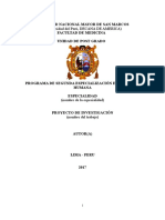 Formato Oficial Para Proyecto de Investigacion