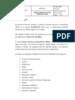 Modelo BPM Conservas Hortalizas